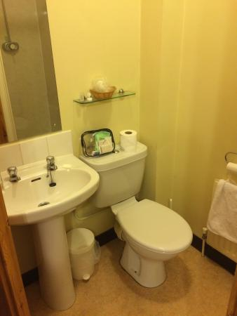Lovell Lodge Hotel : View of the bathroom
