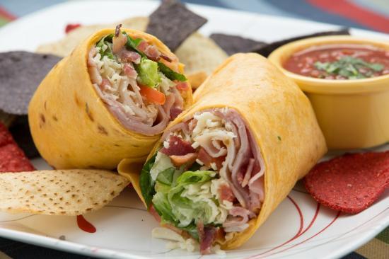 Cafe Allure: Pepper Jack Club Deli Wrap