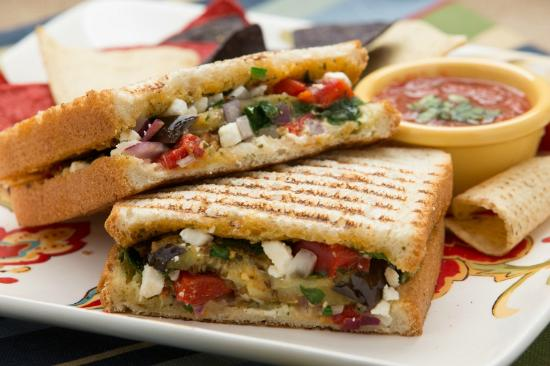 Cafe Allure: Grilled Veggie Panini