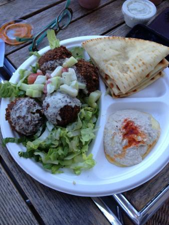 Jaffa Cafe: Falafel Plate