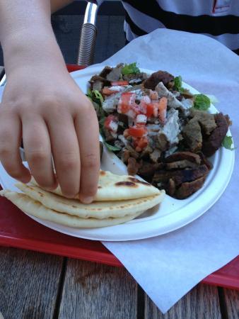 Jaffa Cafe: Gyros Plate