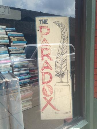 The Paradox Bookstore: A Sign