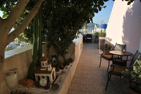 Nectarios Villa: balcony