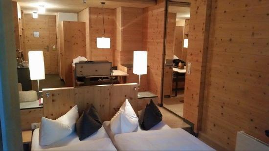 Naturhotel Waldklause: Nice sleeping area