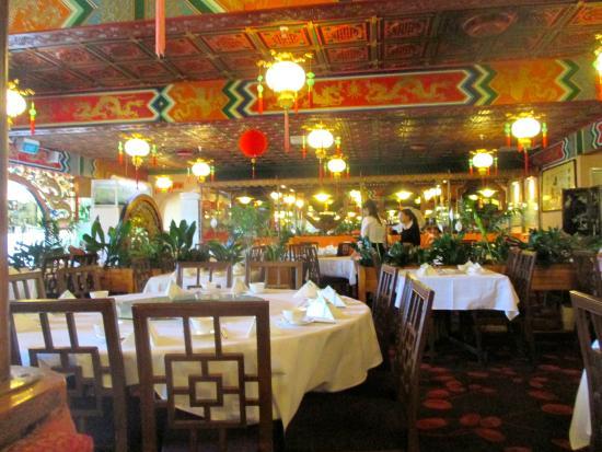 Mandarin Court: inside the restaurant