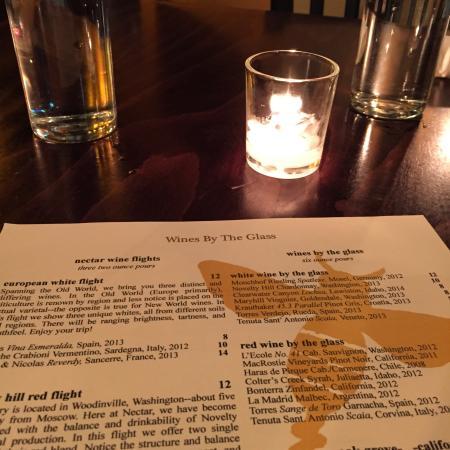 Nectar Restaurant and Wine: Lovely dinner. Delicious lentil meatballs :)