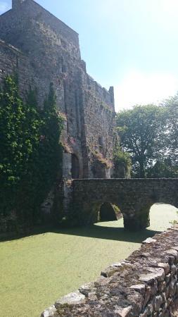 Chateau Fort de Pirou: l'entrée