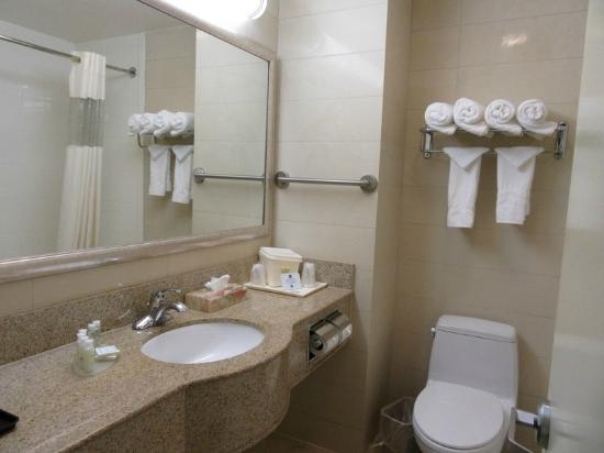 Best Western Plaza Hotel The Bathroom
