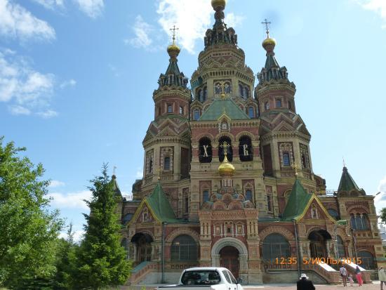 Peterhof, Rusland: Красив как внешне, та и внутренне