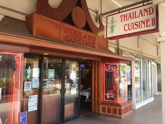 Thailand Cuisine : Maui Mall, Kahului