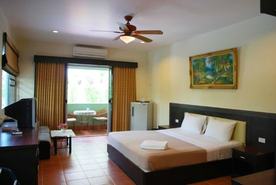 Jomtien-Morningstar Guesthouse: Standard double room