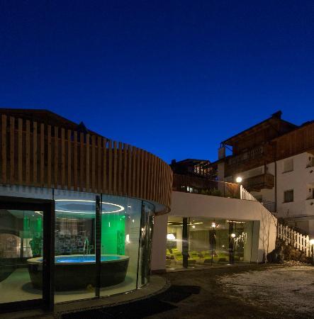 Hotel Cosmea : Wellnessbereich von außen