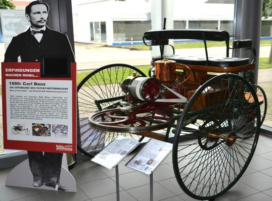 Stiftung Museum AUTOVISION: Benz Patent Motorwagen Museum AUTOVISION