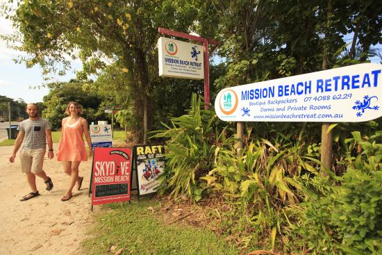 Mission Beach Retreat: Right in the center of town