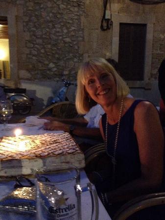 Can Olesa: My birthday cake