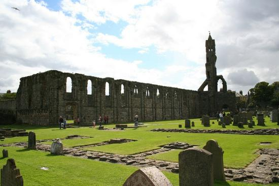 St Andrews Cathedral: Ruins