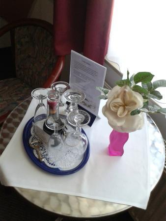 Hotel Smetana: kleine liebevolle Aufmerksamkeit