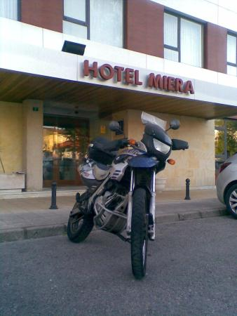 Hotel Miera: Start of my tour