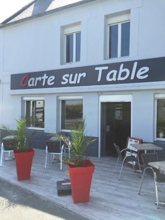 Carte sur table saint benoit des ondes restaurant avis - Restaurant carte sur table cavaillon ...
