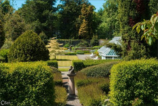 Glenapp Castle: Part of Walled Gardens