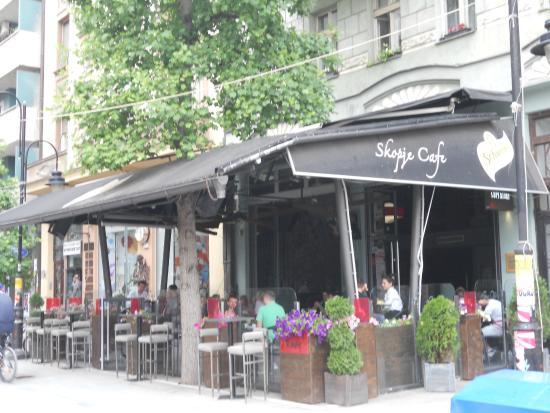 Cafe Skopje: Skopje Cafe