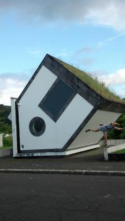 Furnas: famous upside down house