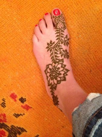 Henna Tattoo Feet Picture Of Marrakech Henna Art Cafe Marrakech