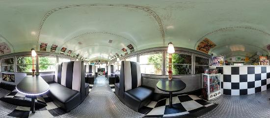 school bus diner hamm restaurantanmeldelser tripadvisor. Black Bedroom Furniture Sets. Home Design Ideas