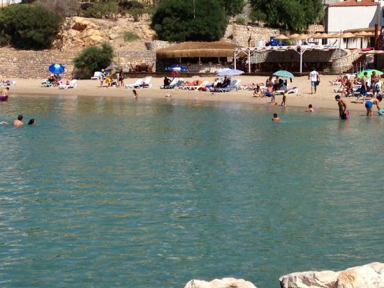 Kerman Hotel: Otel plaj