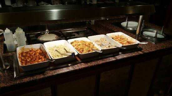 Hotel Riu Palmeras / Bung Riu Palmitos: Cena buffet
