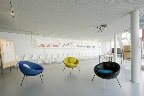 Architecture Centre Amsterdam : The Arcam building during the exhibition Lina Bo Bardi: Together