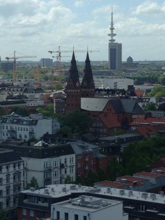 Motel One Hamburg Alster: Vue depuis ma chambre