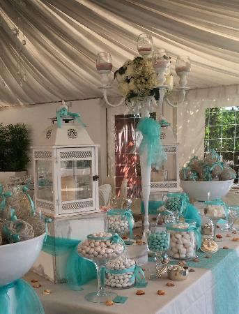 Matrimonio In Tiffany : Confettata matrimonio verde tiffany picture of casale la