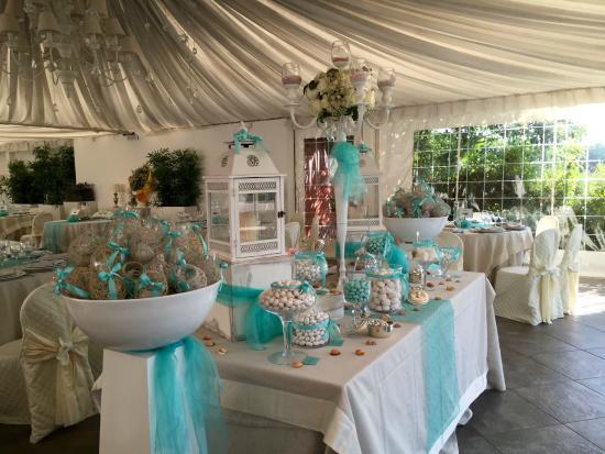 Matrimonio In Tiffany : Confettata matrimonio verde tiffany foto di casale la