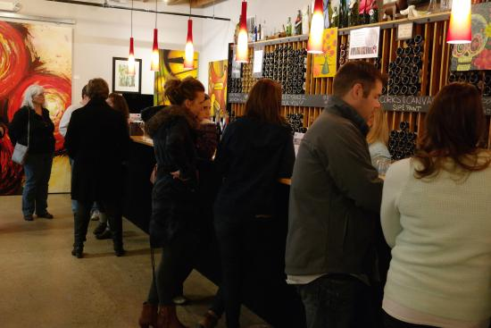 Studio Winery: Try our wines at the tasting bar.