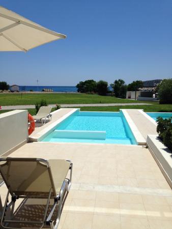 Chambre avec piscine privative photo de sentido apollo - Chambre d hotel avec piscine privative ...