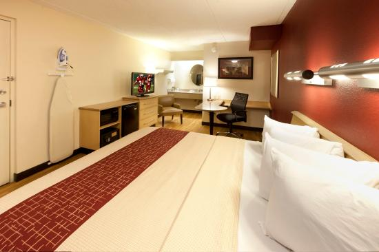 Red Roof Inn Wilkes Barre Arena: Superior King