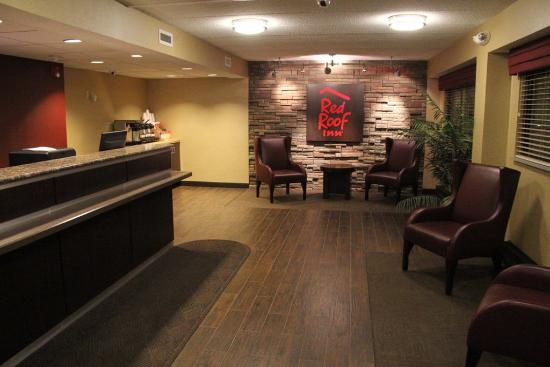 Red Roof Inn Wilkes Barre Arena: Lobby