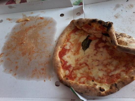 Tutto attaccato alla scatola foto di pizzeria il - Il giardino degli dei ...