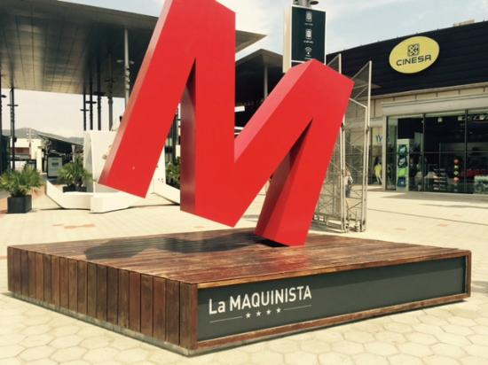 Foto de centro comercial la maquinista barcelona entrada - Centro comercial maquinista barcelona ...