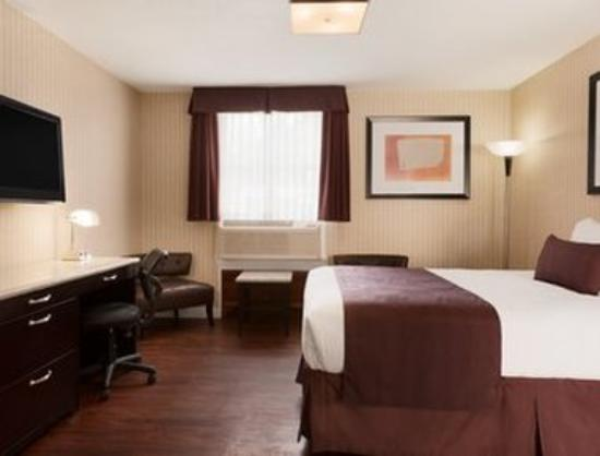 Days Inn Vancouver Metro: 1 Queen Bed Suite