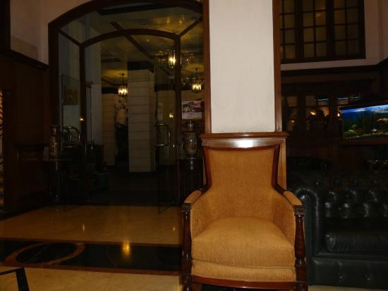Nahar's Nilgiris Hotel: reception