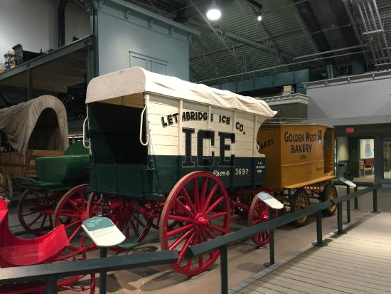 Cardston, Canadá: Ice carriage.