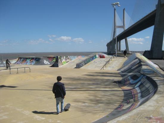 Luxe Hotel by Turim Hoteis: Skateplatz Lissabon..sehr geil