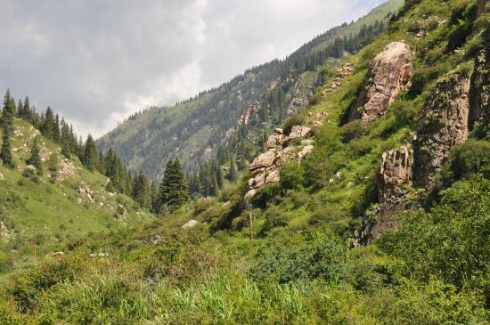 Grigoryevka, Δημοκρατία της Κιργιζίας: Ущелье