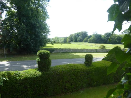 Newburgh House - Coxwold: view from our room