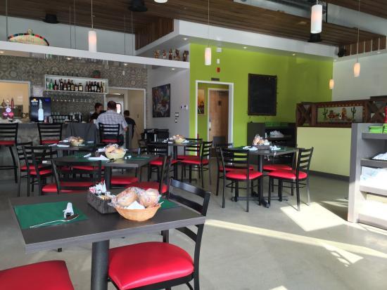 Lac-Megantic, Canadá: L'intérieur du nouveau restaurant