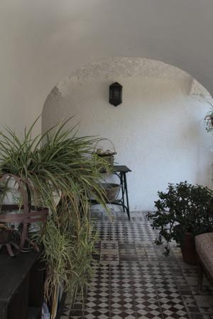 B&B Villa Castelcicala: Portico