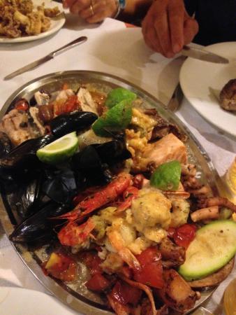 Ta' Vestru : Piatto pesce misto