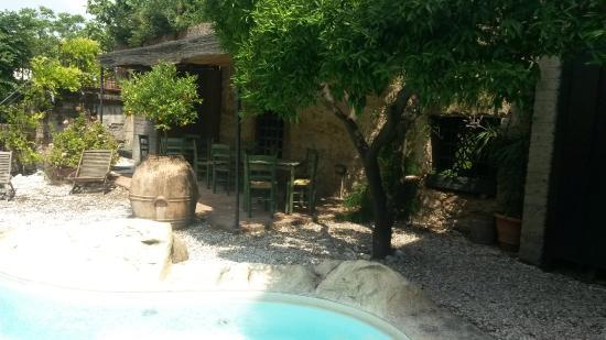B&B Villa Castelcicala: Piscina